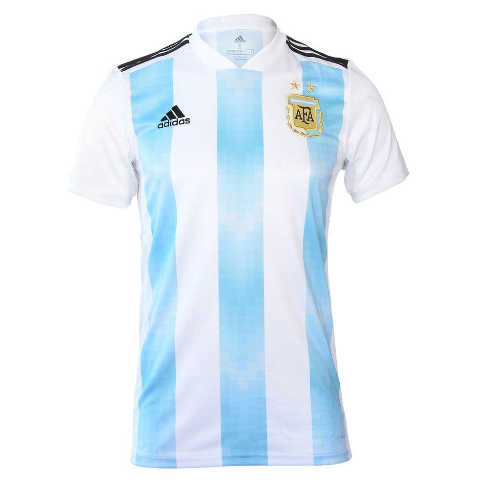 Camiseta Adidas Titular Selección Argentina - Dash b89eed49efcae