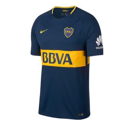 Camiseta Nike Breathe Boca Juniors Stadium - Dash 23d6bbc29b469