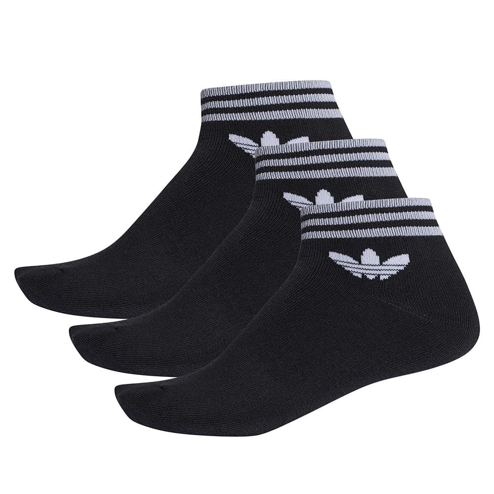 Medias Adidas Originals Trefoil Ank - Grid 2f4ce88dca0