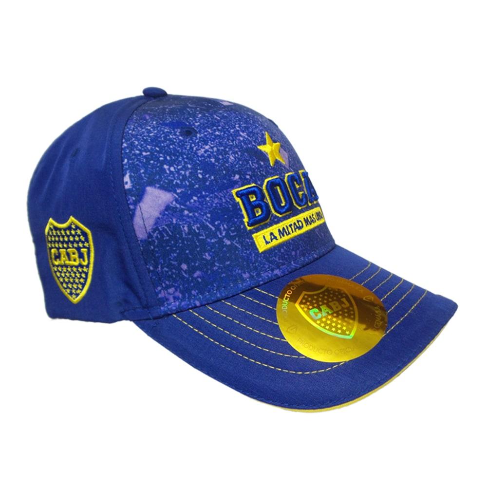 cb4e3b4c03371 Gorra Boca Juniors La Mitad Más Uno - Dash