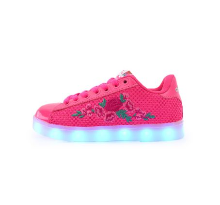 Zapatillas-Addnice-Luces-Led-Rosas