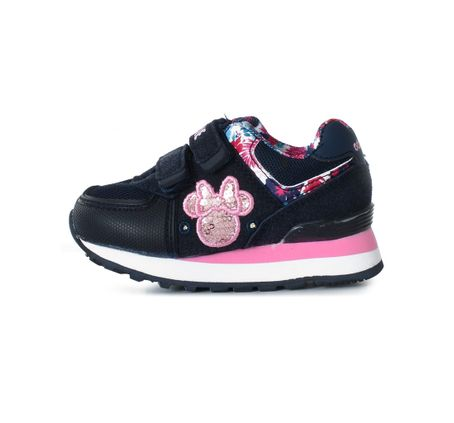 Zapatillas-Addnice-Minnie-Tropical-Velcro-Con-Luces
