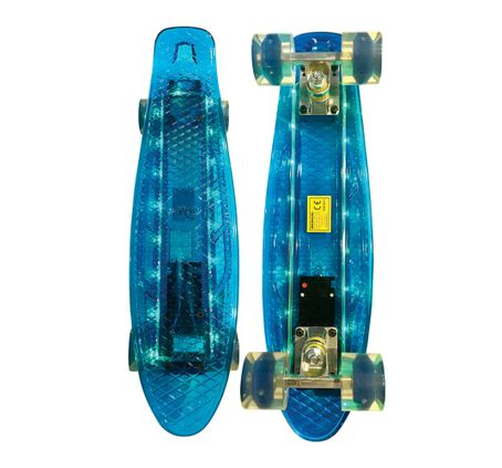 Patineta-Gold-Mini-Longboard-LED