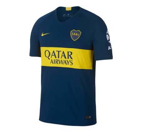 Camiseta-Titular-Nike-Boca-Junior-Match-2018-2019