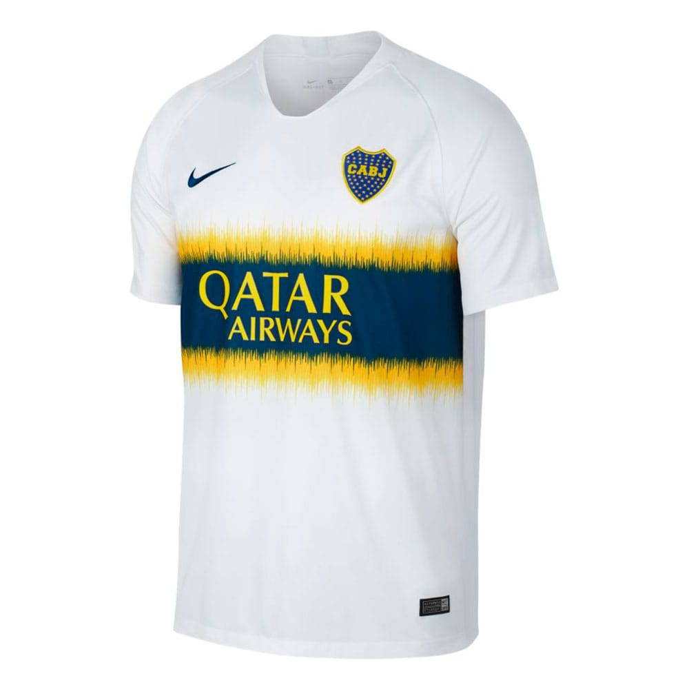 55a1c3b963686 Camiseta Alternativa Nike Boca Juniors Stadium 2018 2019 - Mark