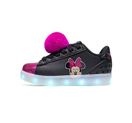 Zapatillas-Addnice-Minnie-con-Pompon-LED