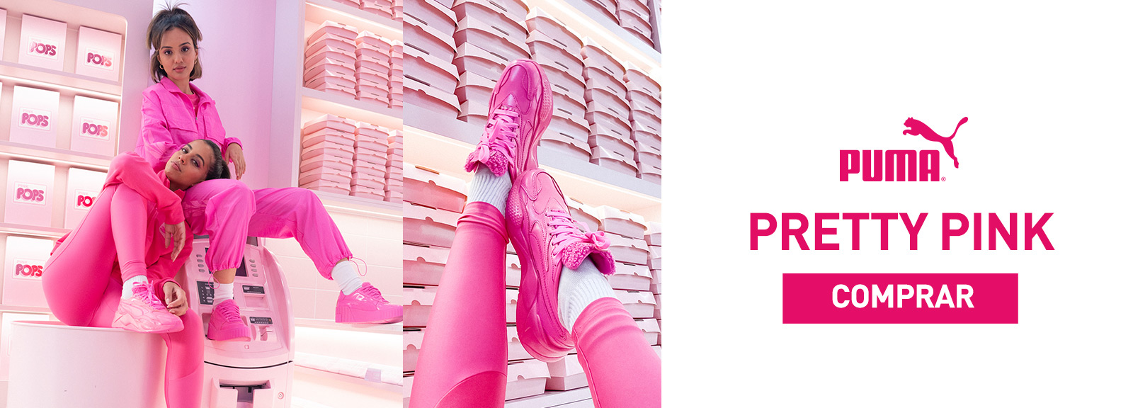 Puma Pretty Pink